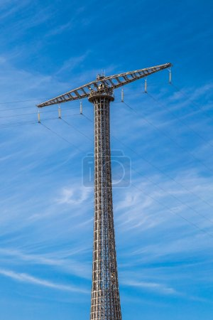 Communications Tower over sky