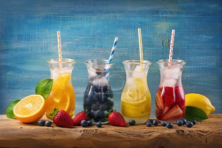 Summer fruit drinks