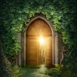 Mysterious entrance to new life or beginning...