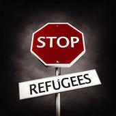 Zastavit uprchlíků symbol