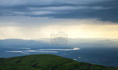 Photo pour Paysage de montagne pittoresque - image libre de droit