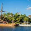 Panoramic view of the Beach Club Hotel at Disney W...