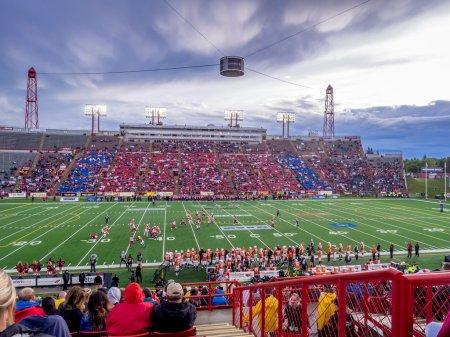 McMahon Stadium in Calgary, AB,Canada