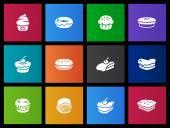 icons set in Metro style