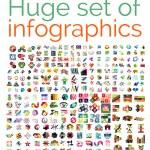 Huge mega set of infographic templates, set 1...