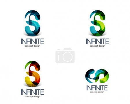 Infinity business logo concept