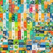 Mega collection of flat web infographic concepts a...
