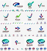 Company logo mega collection - arrows loops infinity symbols and other