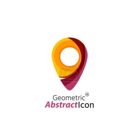 geometric business corporate emblem
