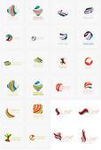 Univerzální abstraktní geometrické tvary - obchodní emblémy
