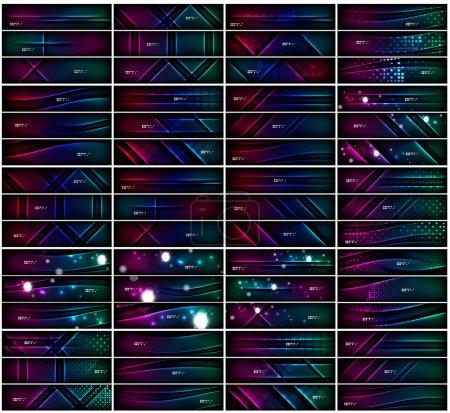 riesige Mega-Sammlung von Weltraum-Hintergründen