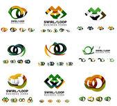 Sada logotyp společnosti