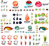 Eco nature concepts, icon set