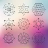 Posvátná geometrie sada