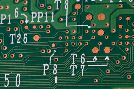 Photo for Macro picture of computer electronics - Royalty Free Image