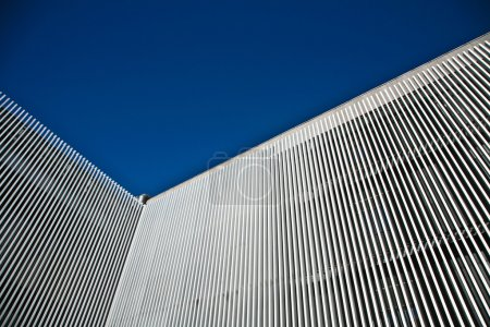 Modern stripped building
