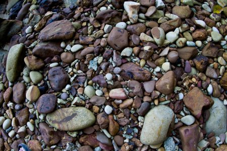 Stones on a beach in Thailand