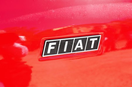 Logo Fiat on the Fiat
