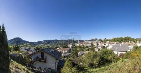 citadel Vauban in  Seyne les Alpes in the french Region provence