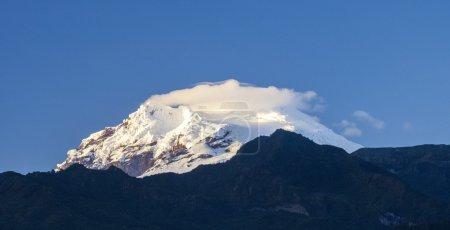 Snow capped Antisana Vocano, Ecuador