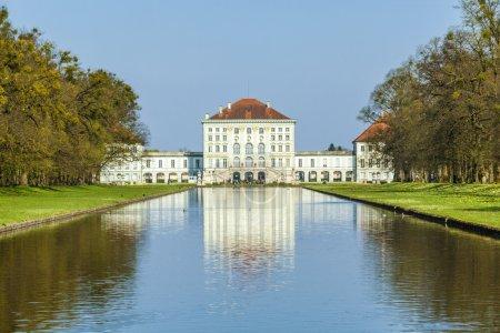 Photo pour Château de Nymphenburg à Munich, Allemagne - image libre de droit