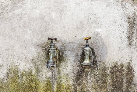 two old Water taps