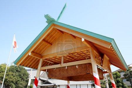 Japanese sumo wrestling house