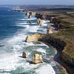 Twelve Apostles, Victoria, Australia, viewed from ...
