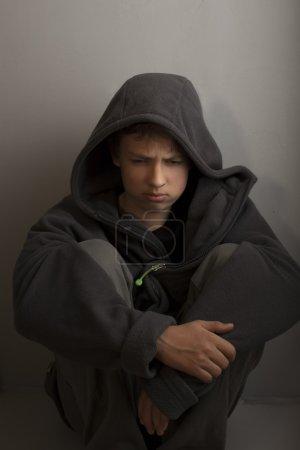 Photo pour Problèmes des adolescents - image libre de droit