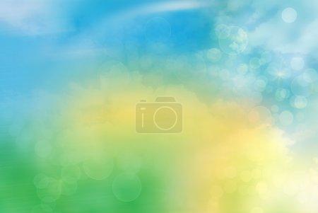 Foto de Bokeh abstracto luminoso fondo - Imagen libre de derechos