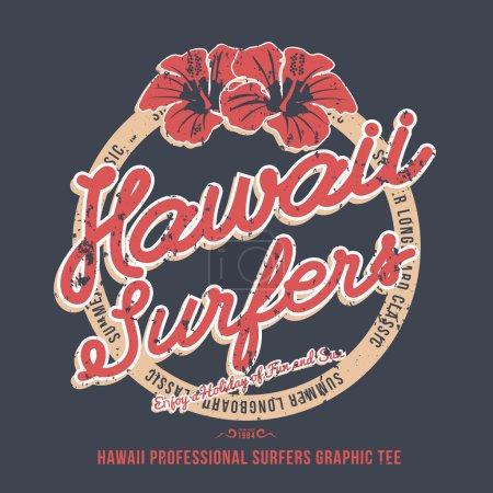 Hawaii surfers.