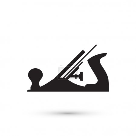 Illustration pour Avion isolé. Illustration vectorielle - image libre de droit