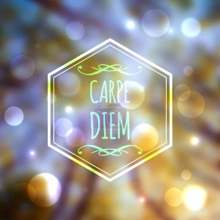 Carpe Diem website design.