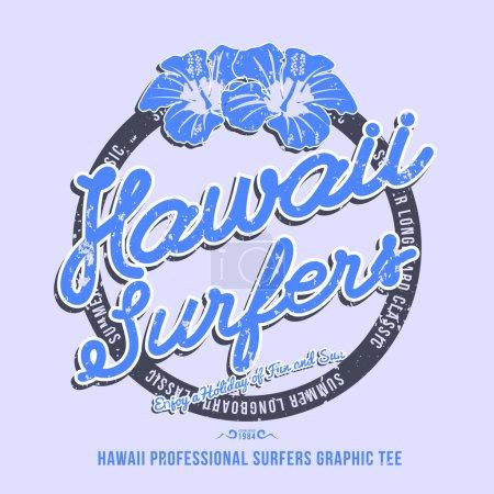 Hawaii surfers design