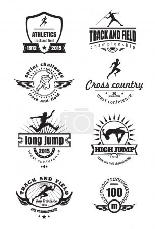 Athletics emblems