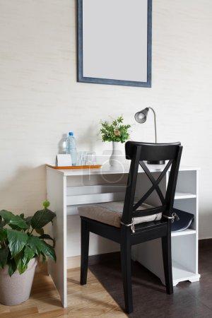 Work space in a scandinavian style