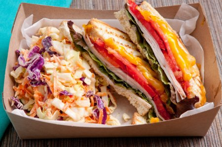grilled turkey and cheese panini
