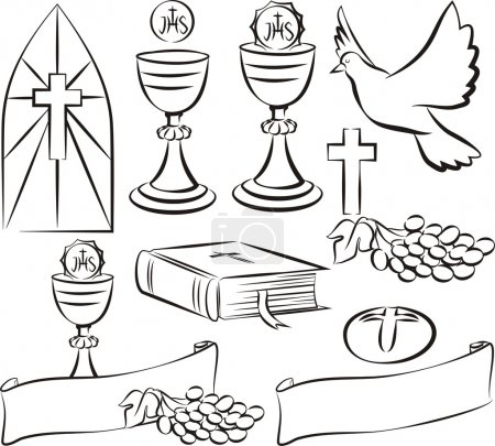holy communion symbols