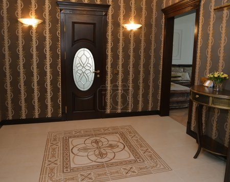 Hall in modern classical style