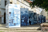 The street photo exhibition devoted to the 70 anniversary of eli
