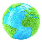Zelená země 3d obrázek