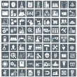 Industry, energy and construction icons set, indus...