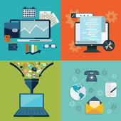 business marketing and finance concepts