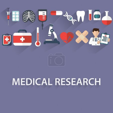 health care and medical research concept