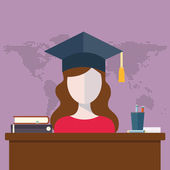 distance education and training illustration