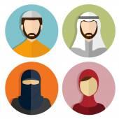 Muslim  avatar People Icons
