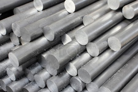 Photo for Steel pipe - Royalty Free Image
