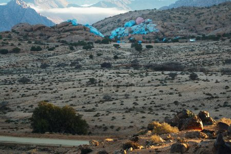 Tafraout valley , Morocco...