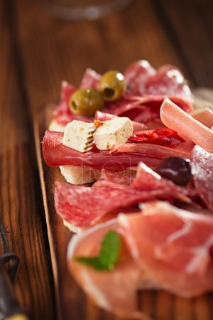 Antipasti Platter of Cured Meat