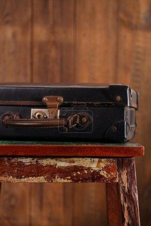Nostalgic old vintage suitcase